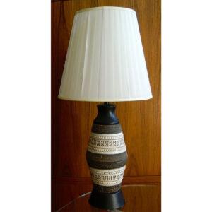 Bitossi Style Ceramic Lamp