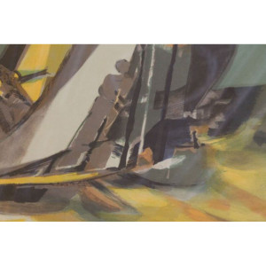 Sailing at Dusk Signed & Numbered Serigraph 117/200