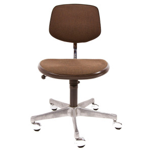West German Adjustable MCM Desk Chair by Drabert