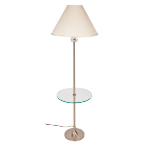 Modern mobler laurel floor lamp table combo aloadofball Gallery
