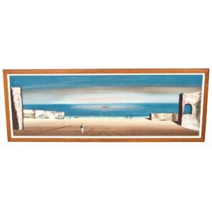 Carlo Beach Scene Painting