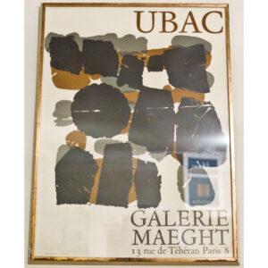 Vintage Poster – Galerie Maeght, Paris