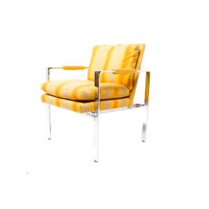 Milo Baughman Club Chair – Original Fabric