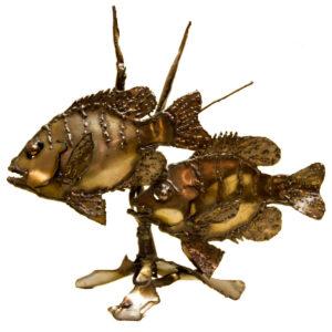 Fish Sculpture by Howard Tomashek