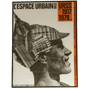 L'espace Urbain Pompidou Exhibition Poster