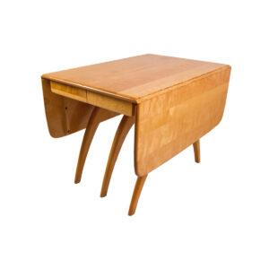 Heywood Wakefield Versatile Wishbone Dining Table w/ 3 Leaves & 6 Chairs
