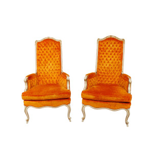 "1970's ""Fat Elvis"" Vegas Chairs!"