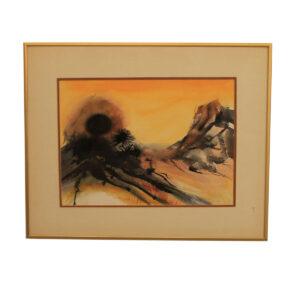 """""""Desert Sun"""" Artwork"""