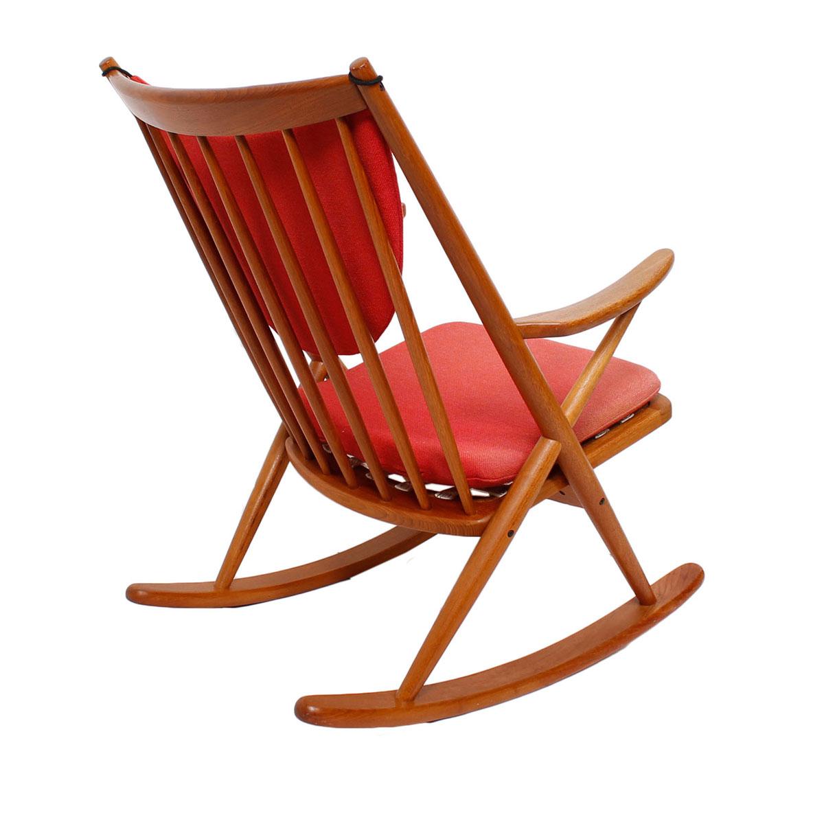 Frank reenskaug rocking chair - Rocking Chair By Frank Reenskaug For Bramin