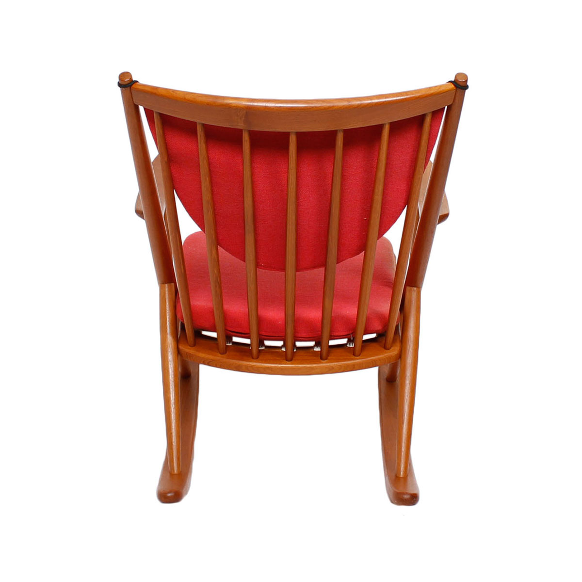 Bramin Danish Teak Designer Rocking Chair ...