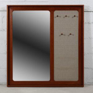 Huge Danish Modern Multi-Function Mirror – Aksel Kjersgaard