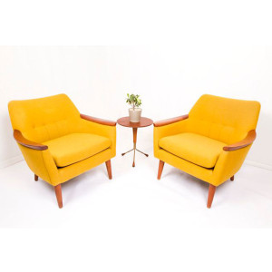 Rockin Pair of Danish Modern Chairs