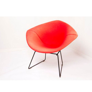 Amazing Vintage Bertoia Diamond Chair w/ Full Cover