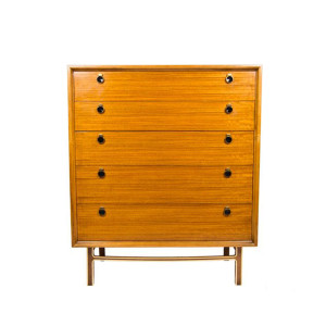 Exotic MCM Tall Dresser – Chest