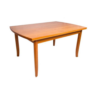 Curvaceous Expanding Teak Dining Table
