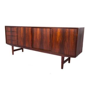 Gorgeous Danish Modern Rosewood Sideboard