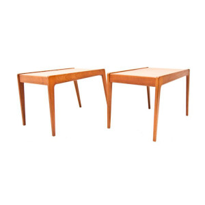 Kurt Østervig Danish Modern Teak End Tables
