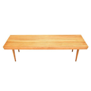 MCM Slat Coffee Table – Bench