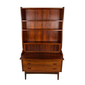 RARE Tall and Sexy Danish Modern Rosewood Secretary