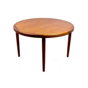 Expanding Danish Modern Teak Dining Table