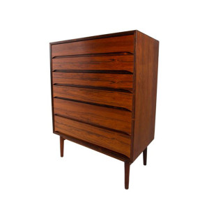 Rosewood Slim and Sexy Tall Dresser