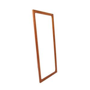 Aksel Kjersgaard Compact Danish Modern Teak Mirror