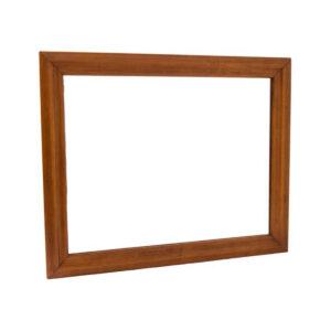 MCM Walnut Mirror