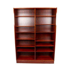 Danish Modern Hundevad Rosewood Bookcase
