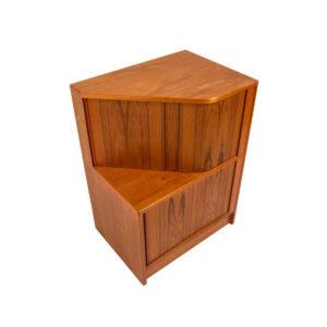 Danish Modern Teak Bar Cabinet