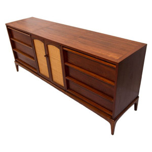 REVERSIBLE Door Walnut Dresser/Sideboard
