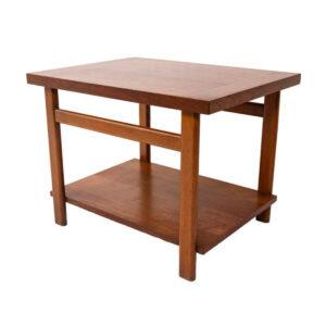 Mid Century Walnut Side Table
