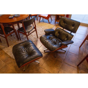 Authentic Eames Lounge Chair by Herman Miller