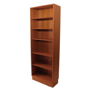 Slim Danish Teak 28″ Bookcase