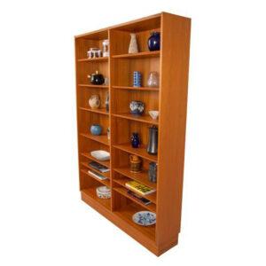 Danish Modern Hundevad Teak Bookcase