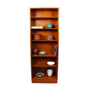 Slim & Tall Hundevad Danish Teak Adjustable Bookcase
