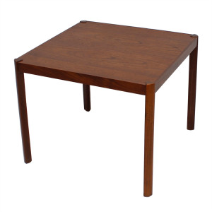 Petite Danish Modern Teak Accent / Coffee Table