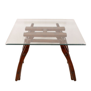 Asian-Inspired Decorator Rosewood Coffee / Accent Table