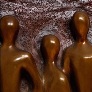 Mad Men's Vintage Figural Abstract Artwork