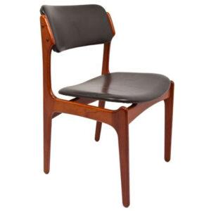 Set of 8++ Designer Danish Modern Teak Dining Chairs by Erik Buch