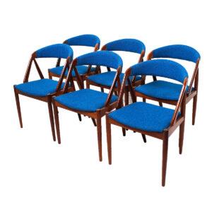 Set of 6 Kai Kristiansen Dining Chairs