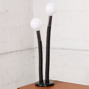 70's Flexible Mid Century Twin Bulb Lamp