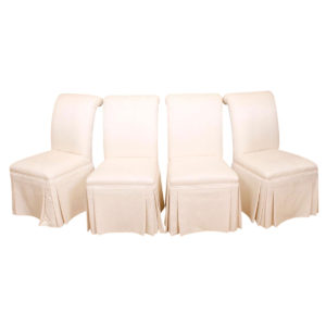 Roche Bobois Set of 4 Dining Chairs — Virtually Mint Condition