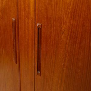 Danish Teak Gentleman's Chest / Tall Dresser