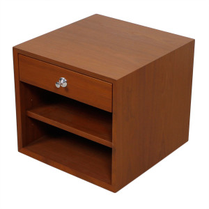 Walnut Accent Table / Nightstand by George Nelson for Herman Miller