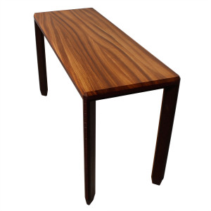 Designer Exotic Solid Wood Tall Console / Desk Table
