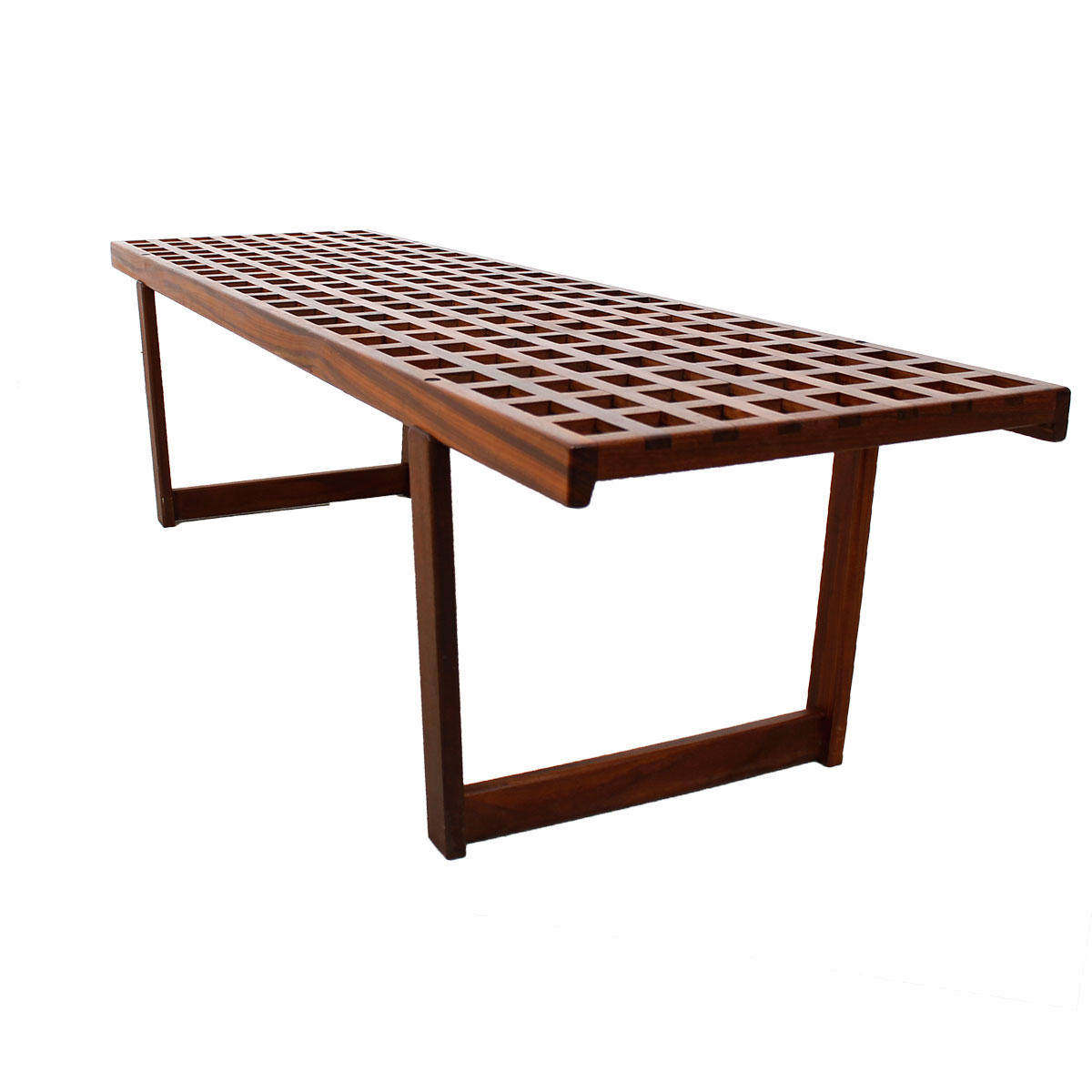 Teak U0027Latticeu0027 Coffee Table ...