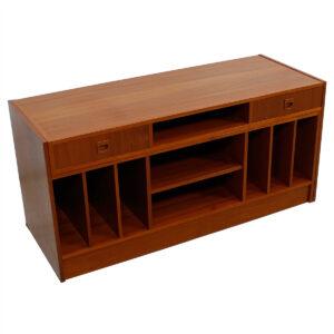 Nice Expanding Teak Multifunctional Modern Media / Storage Cabinet