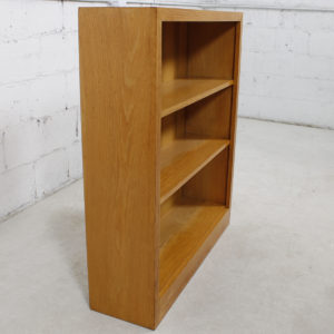 Vintage Blonde Compact Bookcase