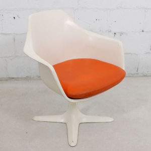 Mid Century MOD Swivel Accent Chair