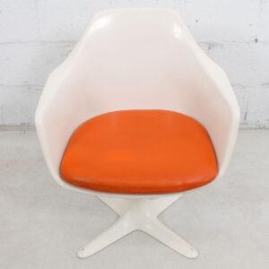 Mid Century MOD Swivel Accent Chair